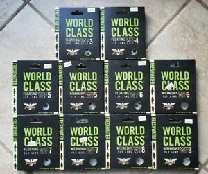 Clear 30 yd// 8 lb fenwick Wctf0830 World Class Saltwater Fluor Tippet