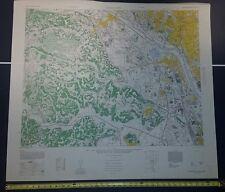 Denen-Chofu 1946 US Army Map - Tokyo Japan 1:12,500 WW II vintage military