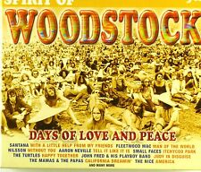 3x CD - Various - Spirit Of Woodstock - A4697