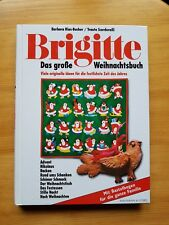 Das große Brigitte Weihnachtsbuch mit Vorlagen