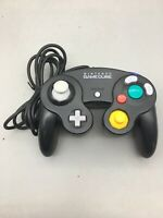 Nintendo GameCube Controller (Black) DOL-003 Genuine - Fast Shipping - B44