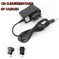 12V 5V 1A 2A 3A AC Power Supply Adapter charger For LED Strip light CCTV camera