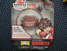 Bakugan Gundalian Invaders BAKUMETER  10 Exclusive MMOG Codes NIP
