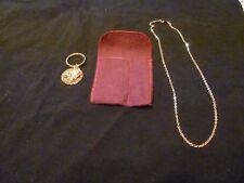Avon 100th ANNIVERSARY rose key chain/pendant plus AVON POCKET / PURSE MIRROR,