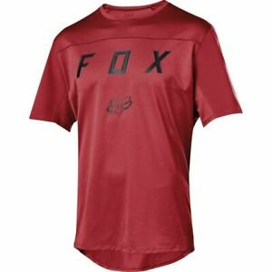 Fox Racing Flexair s/s Short Sleeve Moth Jersey Cardinal