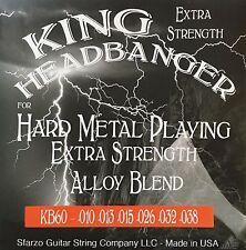 King Headbanger Hard Metal Playing Electric Guitar Strings KH20 gauge 8-38