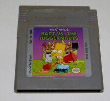 Simpsons: Bart vs. the Juggenauts (Nintendo Game Boy, 1992)