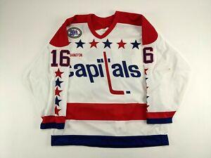 1993-94 ALAN MAY Washington Capitals GAME USED Hockey Jersey NHL