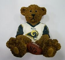 St. Louis Rams NFL Football Ceramic Mini Teddy Bear Figurine by Elby Gifts