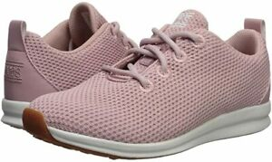 Woman Skechers Bobs Phresh-Engineered Knit Oxford Sneaker 31878 Color Blush New