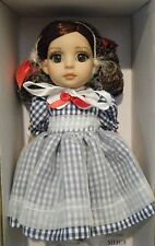 """Tonner Little Country Girl Patsy 10"""" Dressed Doll Bend Knees Dorthy Oz Inspired"""