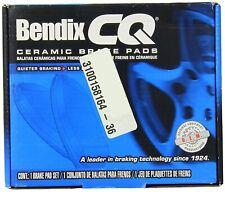 Disc Brake Pad-Bendix CQ Disc Brake Pad Front Bendix D1258