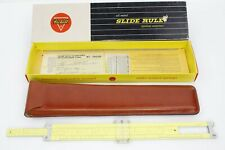Pickett Slide Rule Model N1010-ES with Leather Case and Original Box & Paperwork