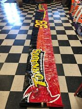 Ryan Newman Tornados Signed Nascar Race Used Pit Wall Banner RN1
