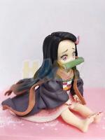 Demon Slayer: Kimetsu no Yaiba Q Ver. Kamado Nezuko PVC Figure Model Toy No Box