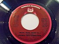 Andrea True Connection More More More 45 1976 Buddah Vinyl Record