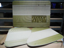 VW BUG 56-64 TMI OEM CLASSIC STYLE DOOR PANEL SET PEA GREEN/OFF-WHITE