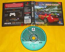 RIDGE RACER Ps1 Versione Italiana edita per il Noleggio »»»»» Usato
