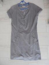 ca51e13f01960 ESPRIT ~ ROBE velours gris ~ Taille 38
