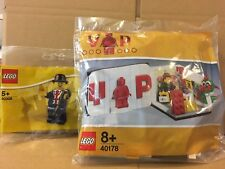 LEGO VIP 40178 MINI LEGO STORE And Lester 40308 New & Sealed.
