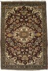 Floral Design Hand-Knotted 3'6X5'2 Small Oriental Rug Home Decor Kitchen Carpet