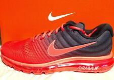 Men's Nike Air Max 2017 Bright Crimson/Total Crimson Red size 11