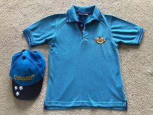 "Beavers Polo Shirt & Cap Official Beaver Scout Uniform 26"""