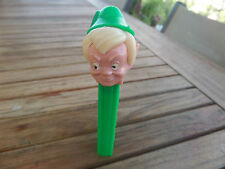 PEZ Most RARE PETER PAN BLONDE HAIR No Feet MINT