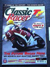 Classic Racer, M / J 2007, 125 – TT100, MV 500 Quattro, Pat Hennen, 850 Commando