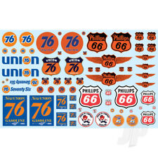 MPC 1:25 Phillips 66 & Union 76 Trucking Decal Pack For Plastic Kits