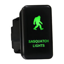 12V Push switch 8B20G Sasquatch Lights Led green on-off For Toyota Tundra Tacoma