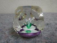 Selkirk Glass Scotland Romance 2000 Paperweight