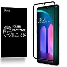 [BISEN] FULL COVER Tempered Glass Screen Protector Guard Shield For LG V60 ThinQ