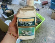 Vintage Motomaster Outboard Motor Oil 500ml Canadian Advertisement Oil Can