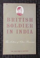 1944 BRITISH SOLDIER IN INDIA The Letters of Clive Branson SC UK VG+ 1st Ed.