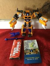 Transformers Prime Beast Hunters Huffer Loose 100% Complete With Instructions