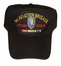 Us Army First 1St Aviation Brigade Bde Vietnam Veteran Hat Cap W/ Ribbons