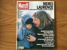 PARIS MATCH N°2296 27/05/1993 claudia schiffer prise d'otages Neuilly Trenet I45