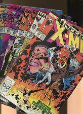 Uncanny X-Men 243,244,245,246,247,248,249 * 7 * 1st Jubilee 1st Jim Lee X-Men!