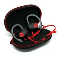 Beats by Dr. Dre PowerBeats Ear-Hook Headphones - Black and Red (Barley Used)