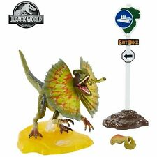Jurassic Park Dilophosaurus 6-Inch Amber Collection Action Figure - IN STOCK