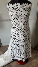 """1m ivory Guipure Lace Fabric  Wedding Gown dress fabric 44"""" wide"""