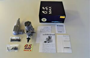 Vintage R/C model airplane engine OS Max 61FSR ABC/7D for aerobatic pattern/NIB