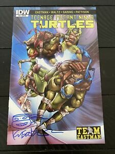TMNT #52 Cover RE Fan Club Variant * Signed By Kevin Eastman- Team Eastman