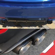 "Carbon Fiber Exhaust Tips Slip-on 2.5"" Pair For BMW F32 F36 435i 428i F30 335i"
