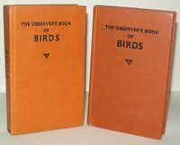 2 Observer Book Bundle - BIRDS, Hardback Books 1963 & 1979