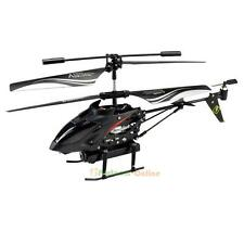 S977 3.5CH Camera Channel RC Metal Helicopter Gyro Radio Remote Control Black UK