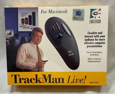 Logitech TrackMan Live Cordless Mouse Presentation Remote Clicker 0105 MAC NEW