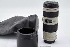 Canon EF 70-200 mm F/4.0 L IS USM Objektiv, wie neu, mit Rest-Garantie