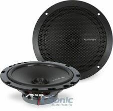 "ROCKFORD FOSGATE 6.75"" 6-3/4 180W 2-Way Full Range Car Audio Speakers 